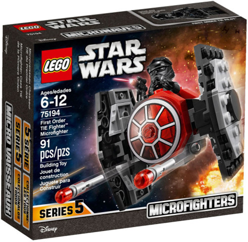 LEGO Star Wars Microfighters Series 5 First Order TIE Fighter Set #75194