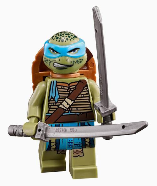 LEGO Teenage Mutant Ninja Turtles Movie Leonardo Minifigure [Loose]