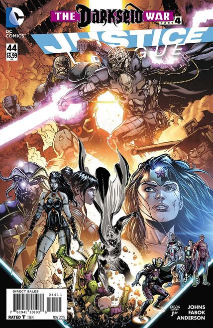 DC Justice League #44 The Darkseid War Part 4 Comic Book