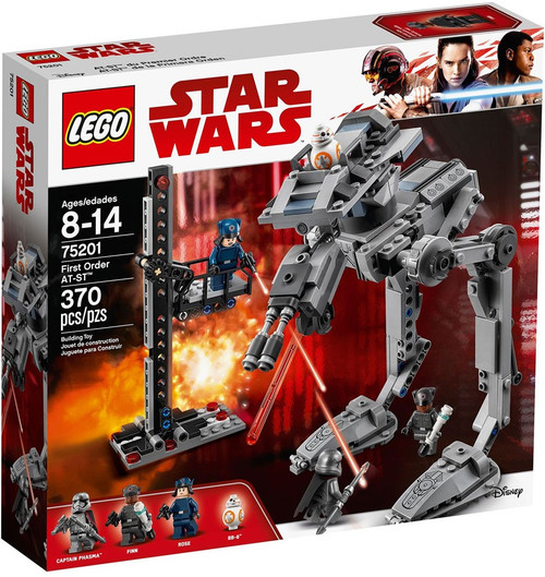 LEGO Star Wars The Last Jedi First Order AT-ST Set #75201