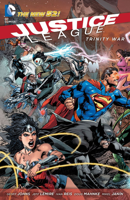 DC Justice League #22 Trinity War Part 1 Comic Book