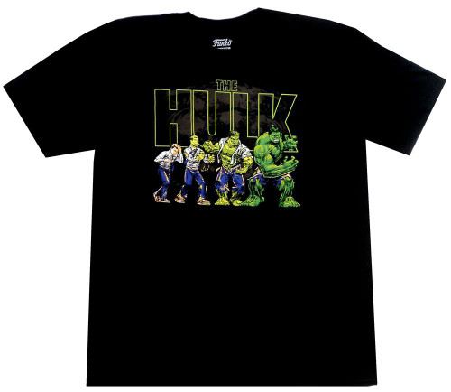 Funko Marvel Collector Corps Transforming Hulk Exclusive T-Shirt [Large]