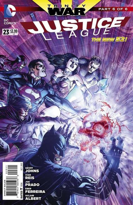 DC Justice League #23 Trinity War Part 6 Comic Book