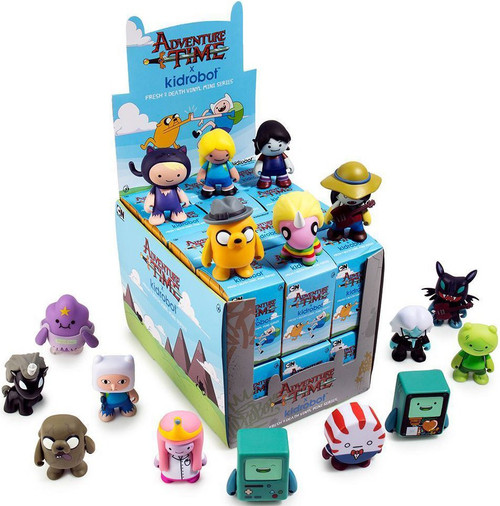 Adventure Time Vinyl Mini Figure Series 2 Fresh 2 Death 3-Inch Mystery Box [24 Packs]