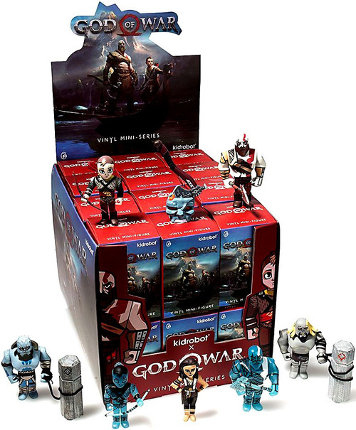 Mini Series God of War 3-Inch Mystery Box [24 Packs]