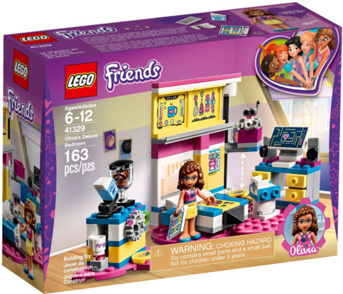 LEGO Friends Olivia's Deluxe Bedroom Set #41329