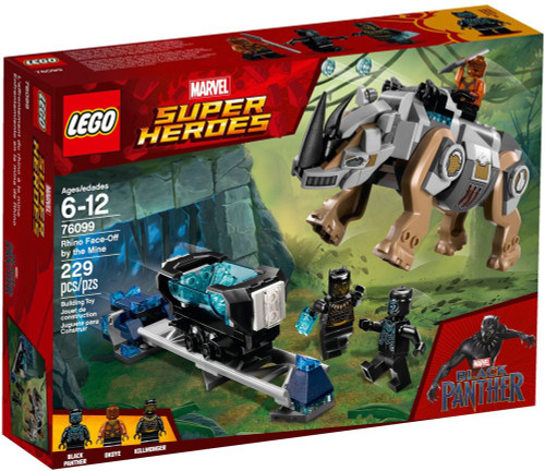 LEGO Marvel Super Heroes Rhino Face-Off by the Mine Set #76099