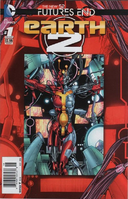 DC The New 52 Futures End Earth 2 Comic Book [One-Shot, Lenticular Cover]