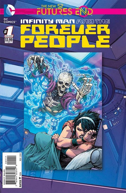 DC The New 52 Futures End Infinity Man and the Forever People Comic Book [One-Shot, Lenticular Cover]