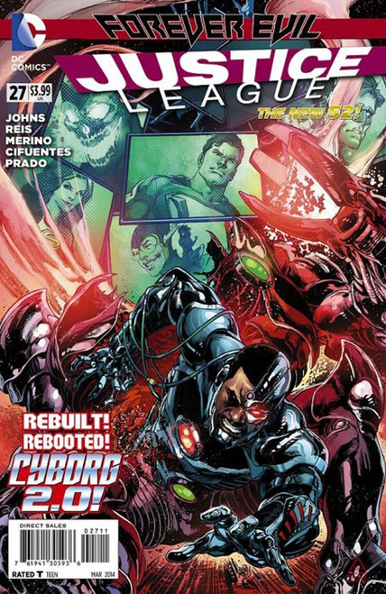 DC The New 52 Justice League #27 Forever Evil Comic Book