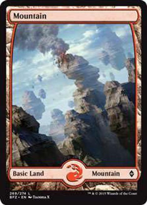 MtG Battle for Zendikar Land Mountain #269 [Full-Art, Foil]