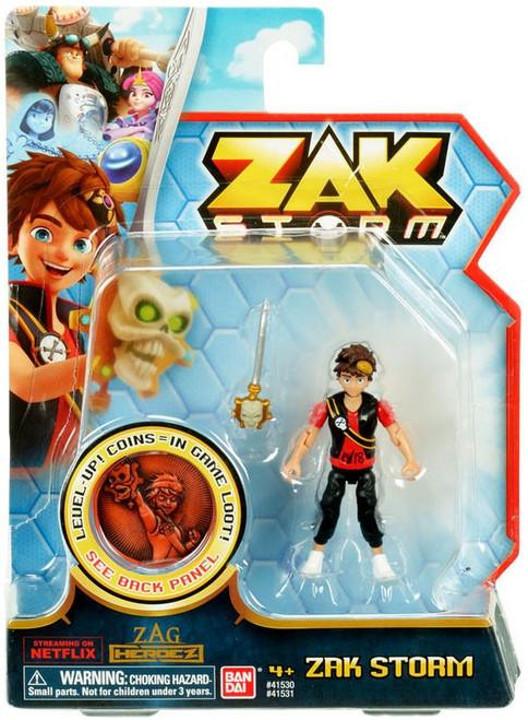 Zag Heroez Zak Storm Action Figure