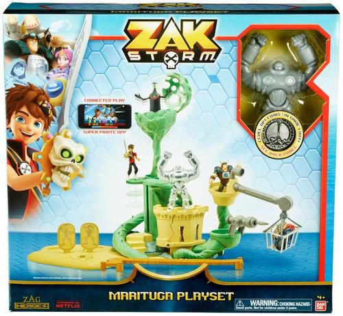 Zag Heroez Zak Storm Marituga Playset