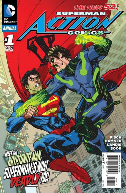 DC The New 52 Action Comics Annual #1 Superman Comic Book