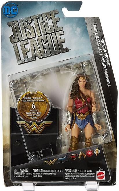 DC Justice League Movie Wonder Woman Action Figure [Collect & Build Justice League Base]