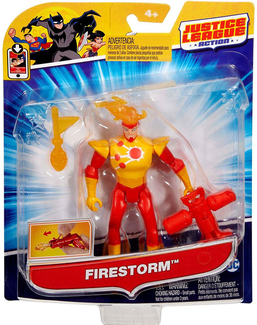 "Justice League Action JLA Power Connects Firestorm Action Figure [4.5""]"