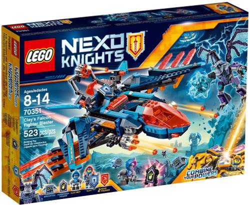 LEGO Nexo Knights Clay's Falcon Fighter Blaster Set #70351