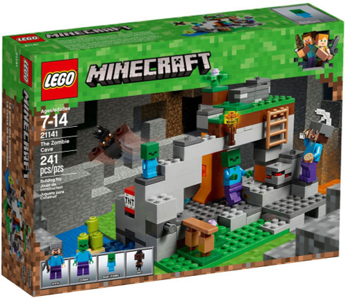 LEGO Minecraft The Zombie Cave Set #21141