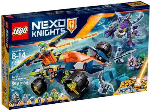LEGO Nexo Knights Aaron's Rock Climber Set #70355