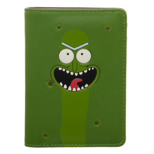 Rick & Morty Pickle Rick Vertical Bi-Fold Wallet