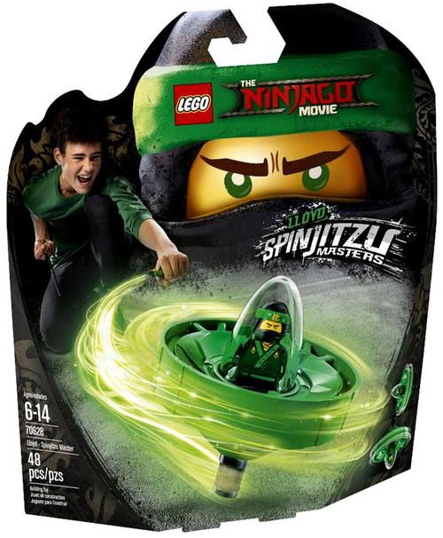LEGO The Ninjago Movie Lloyd - Spinjitzu Master Set #70628