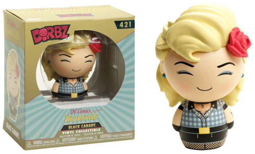 Funko DC Bombshells Dorbz Black Canary Exclusive Vinyl Figure