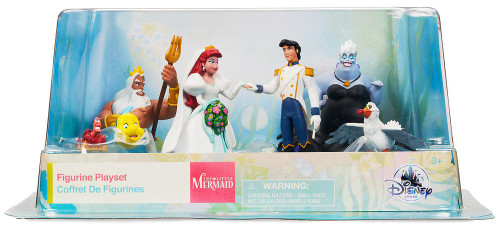 Disney The Little Mermaid Exclusive 7-Piece PVC Figure Set