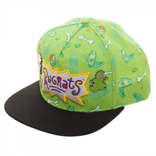 Rugrats Sublimated Snapback Cap with Lapel Pins
