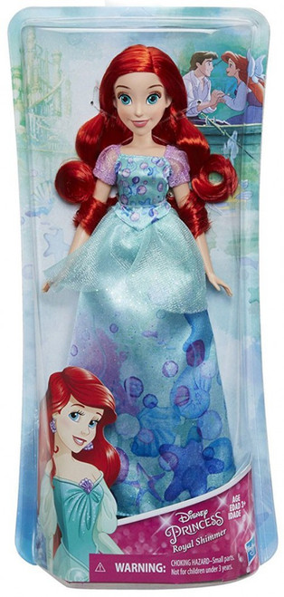 Disney Princess Royal Shimmer Ariel 11-Inch Doll [2018]