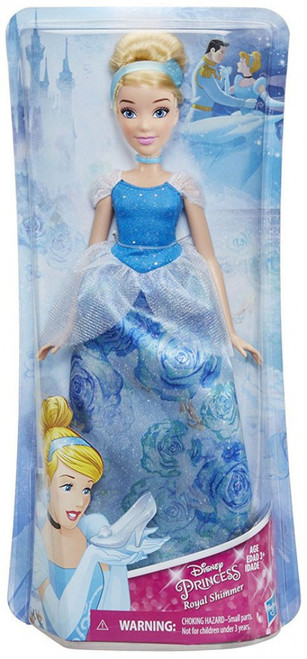 Disney Princess Royal Shimmer Cinderella 11-Inch Doll [2018]