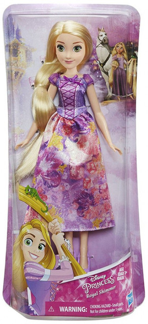 Disney Princess Royal Shimmer Rapunzel 11-Inch Doll [2018]