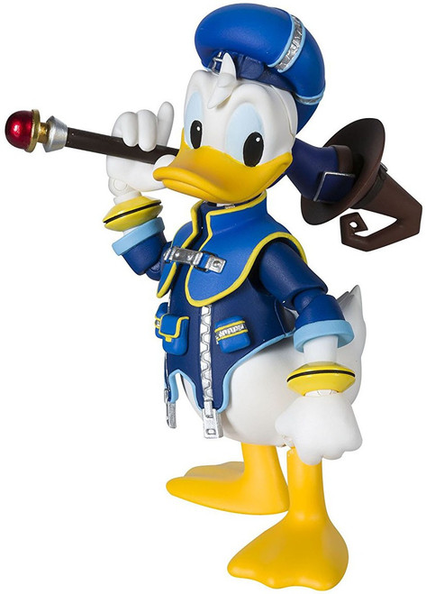 Disney Kingdom Hearts II S.H. Figuarts Donald Duck Action Figure