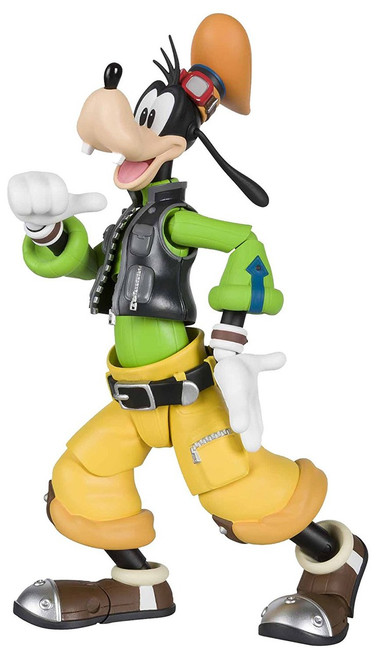 Disney Kingdom Hearts II S.H. Figuarts Goofy Action Figure