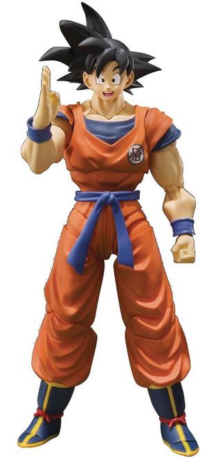 Dragon Ball Z S.H. Figuarts Son Goku Action Figure [A Saiyan Raised On Earth]