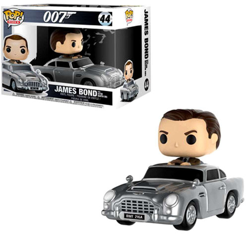 Funko 007 POP! Rides James Bond with Aston Martin Vinyl Figure #44
