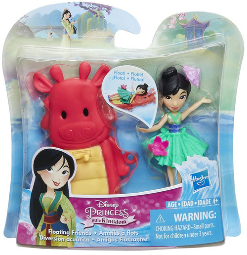 Disney Princess Little Kingdom Mulan Bath Toy