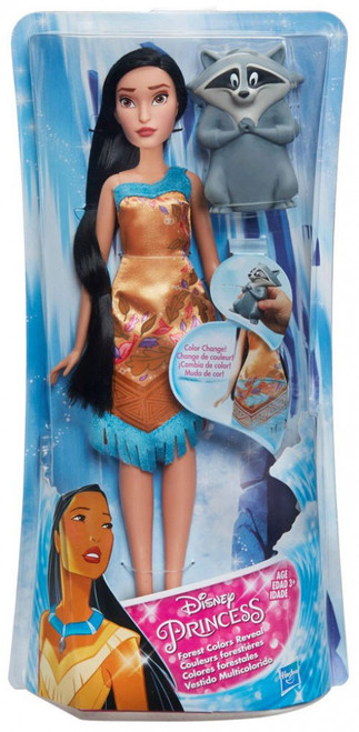 Disney Princess Color Change Reveal Pocahontas Bath Toy