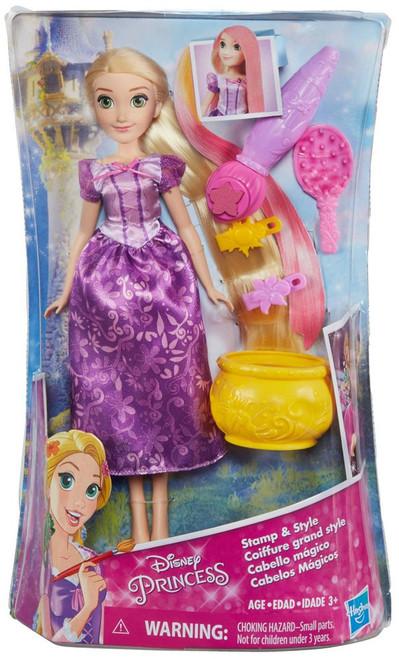 Disney Princess Tangled Stamp & Style Rapunzel Doll