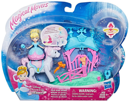 Disney Princess Little Kingdom Magical Movers Magic Carpet Ride Cinderella Figure Set