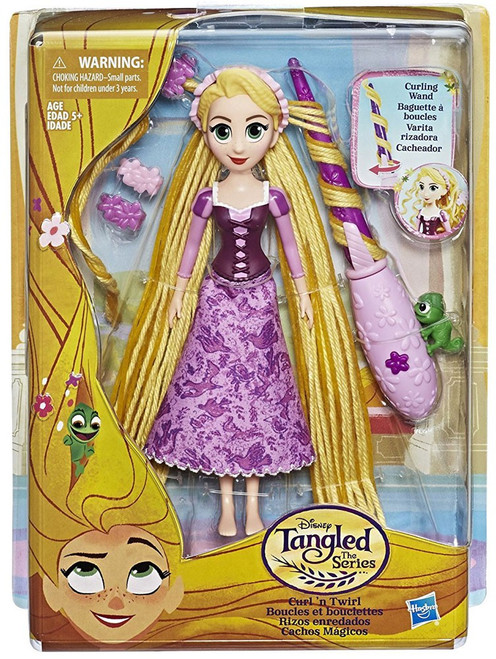 Disney Tangled The Series Curl 'n Twirl Rapunzel Doll