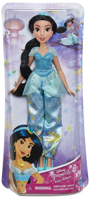 Disney Princess Aladdin Royal Shimmer Jasmine 11-Inch Doll [2018]