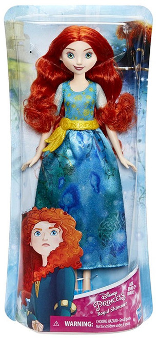Disney Princess Brave Royal Shimmer Merida 11-Inch Doll [2018]