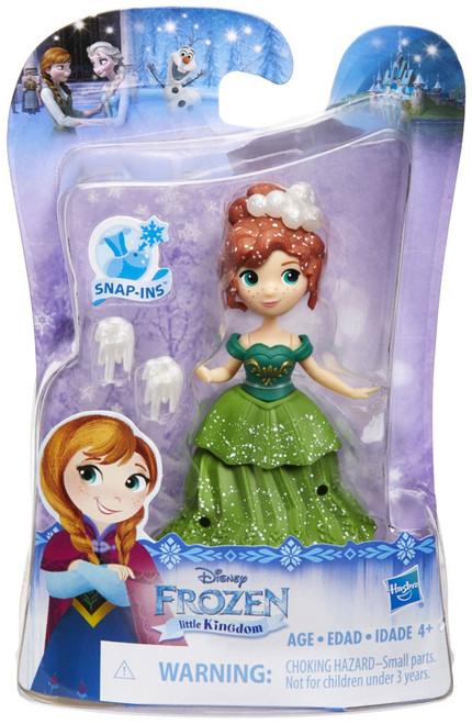 Disney Frozen Little Kingdom Anna Mini Doll [Green Dress]