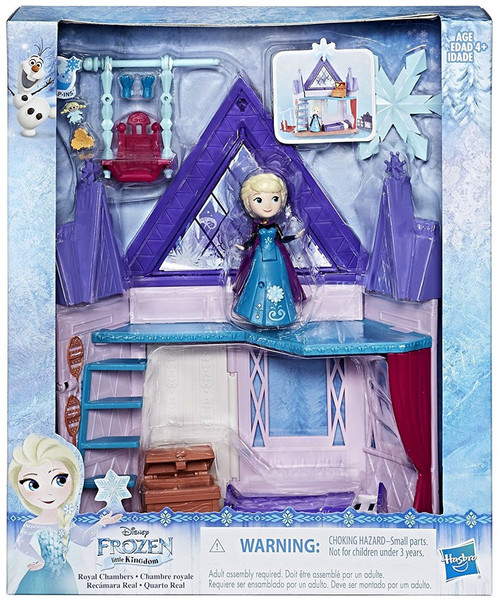 Disney Frozen Little Kingdom Royal Chambers Playset