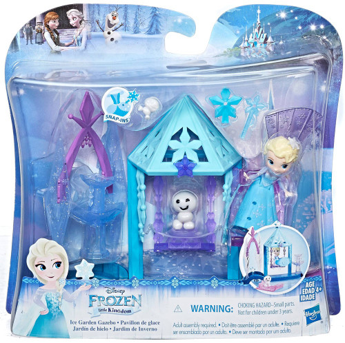 Disney Frozen Little Kingdom Elsa Ice Garden Gazebo Mini Doll Playset