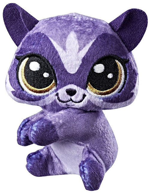 Littlest Pet Shop Scoot Raccoonerson Clip On Plush