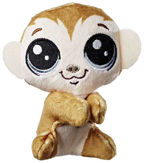 Littlest Pet Shop Clicks Monkeyford Clip On Plush