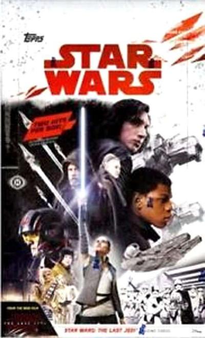 Star Wars Topps Episode VIII The Last Jedi Trading Card HOBBY Box [10 Packs]