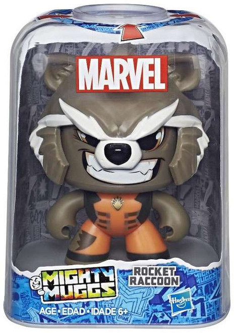 Marvel Mighty Muggs Rocket Raccoon Vinyl Figure