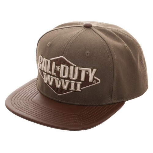 Call of Duty World War II 3D Embroidered Snapback Cap